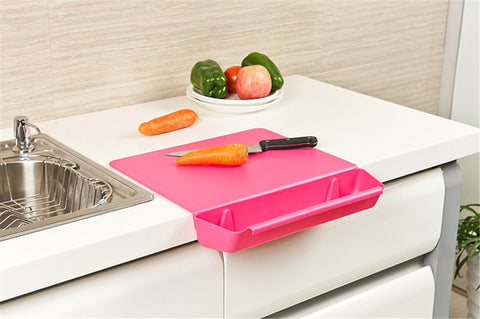 2 in 1 Kitchen Foldable Chopping Board