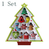1 Set Christmas Tree Cookie Cutter
