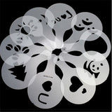 Coffee Stencils Mold 16Pcs/Pack