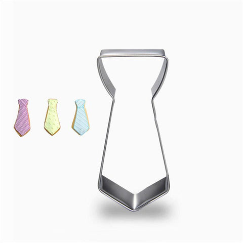 Gentleman Tie Moustache Cookie Cutter