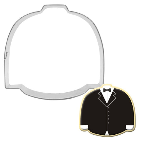 Groom Wedding Suit Cookie Cutter