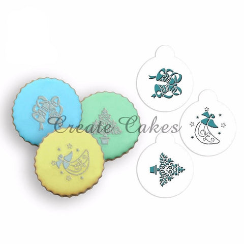 Christmas Cookie Candy Stencils
