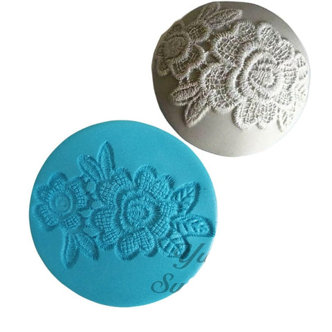 Flower Lace Cupcake Silicone mold