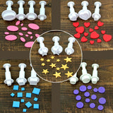 16pcs / set Fondant Cookie Cake Cutter