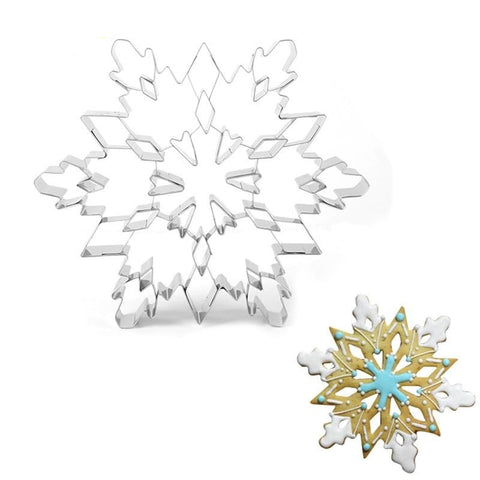 Christmas Snowflake Cookie Cutter Mold