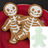 Halloween skull Gingerbread man cookie cutters Gingerbread man