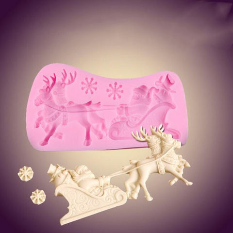 3d Christmas Cookie Fondant Cutter