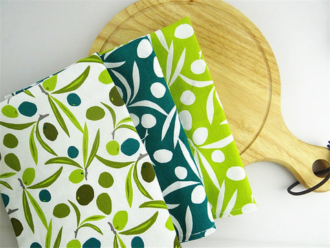 Green Olives Design Table Napkin
