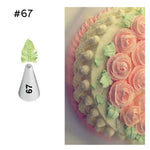 7 Pcs/set Leaves Cream Piping Tips