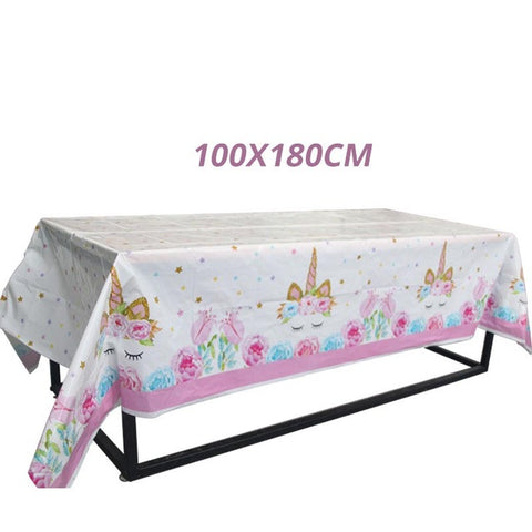 Unicorn Party Table Decor Set
