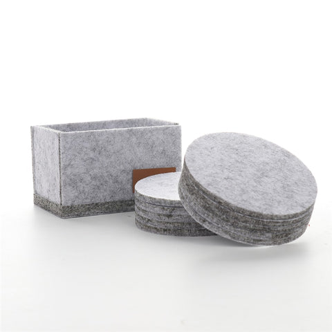 Felt Coaster Cup set 10 pcs