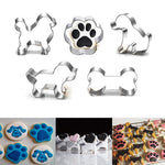 6 Styles Dog & Cross Cookie Cutter