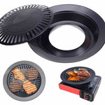 BBQ Non-stick Smokeless Grill Indoor Pan