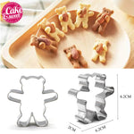 Bear Shape Cookie Cutters