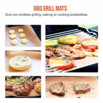 Copper/Black/Gold Non Stick BBQ Grill Mat