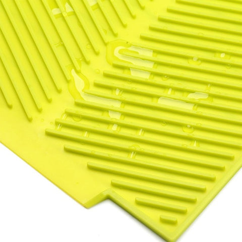 Kitchen Silicone Dish Drainer Tray