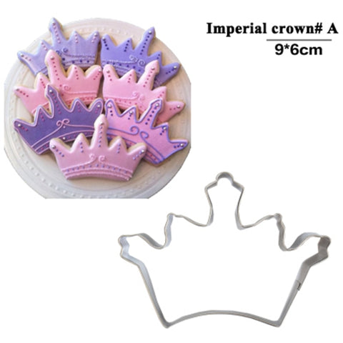 Royal Crown Cookie Cutter Mold