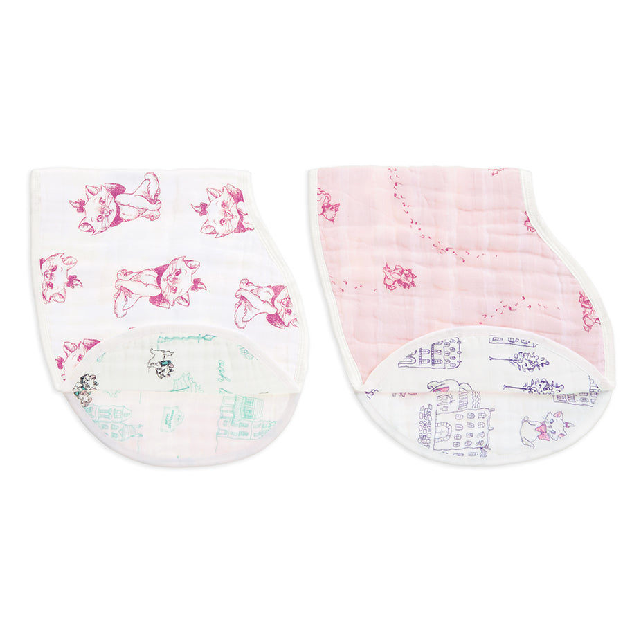 The Aristocats 2-packDisney Baby classic burpy bibs