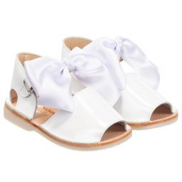 Girls Patent Leather Sandals