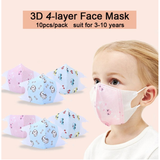 Childrens Protective Face Mask 5 Pack