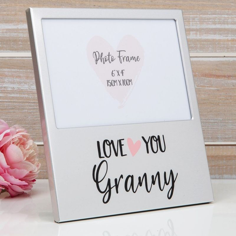 Love You Granny Aluminium Photo Frame