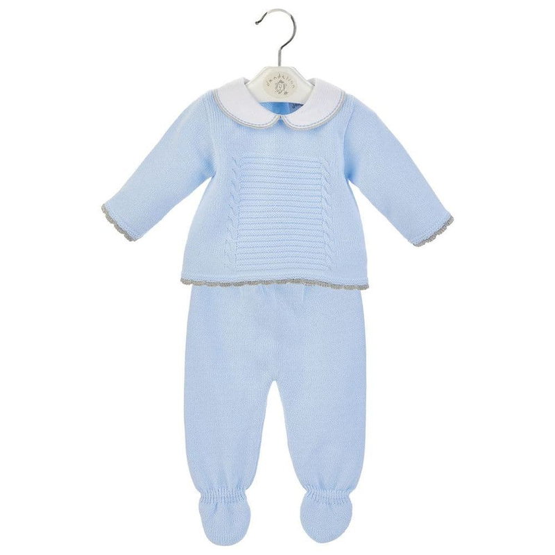 Boys knitted 2 piece set