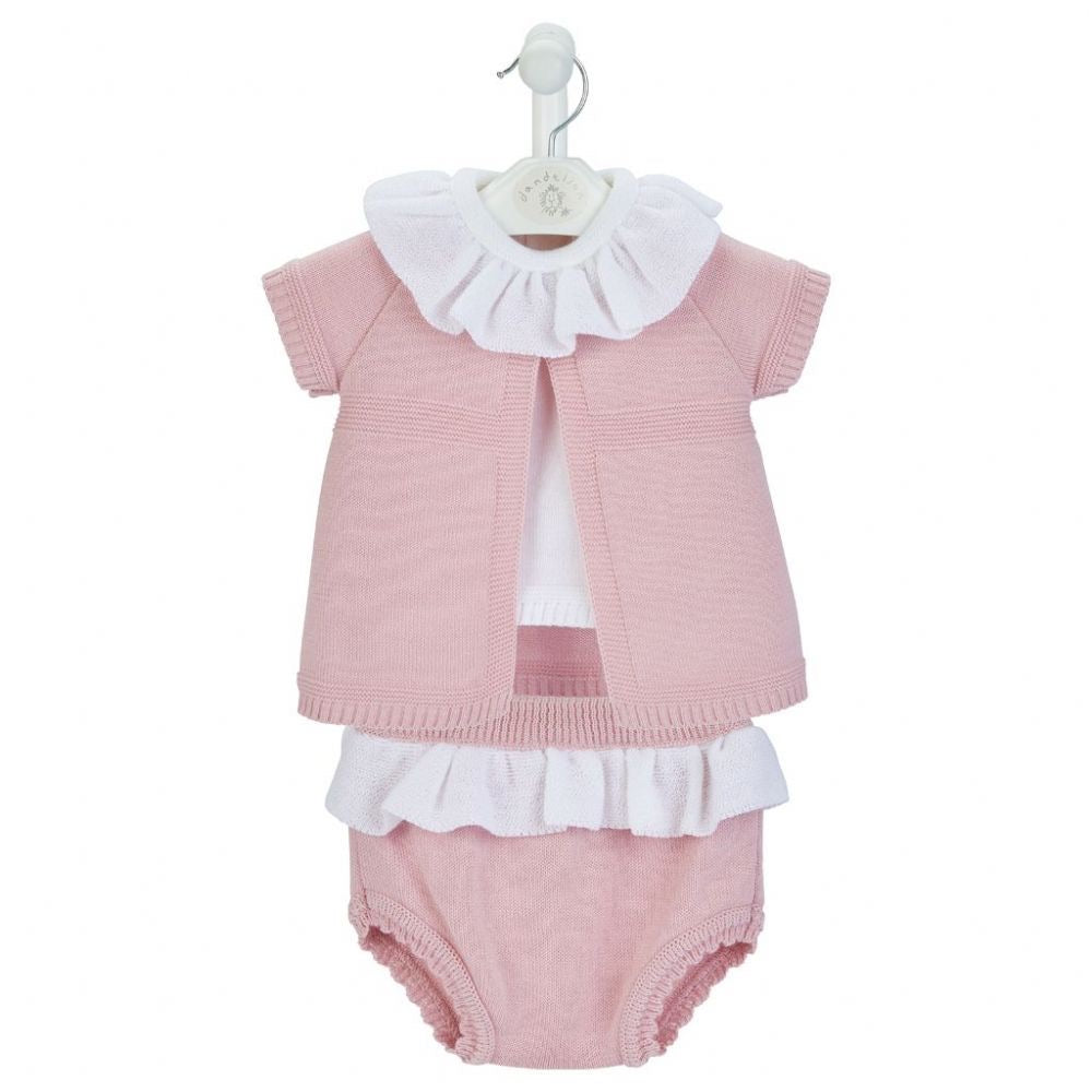 Girls Knitted 3 Piece