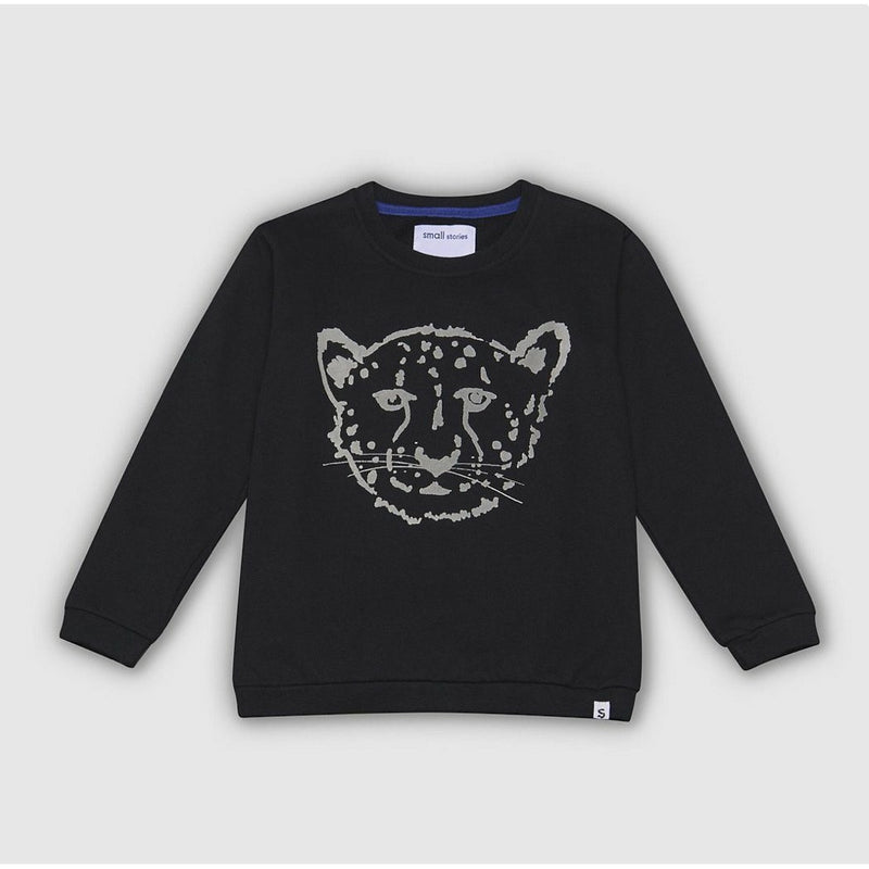 Black Cheetah Sweatshirt
