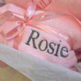 Load image into Gallery viewer, Personalised Dressing Gown And Blanket Baby Girl Hamper