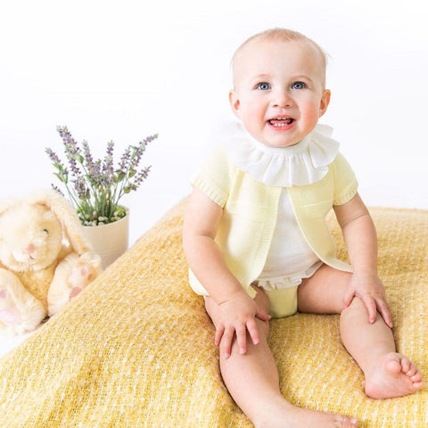 Lemon Girls Knitted 3 piece Set
