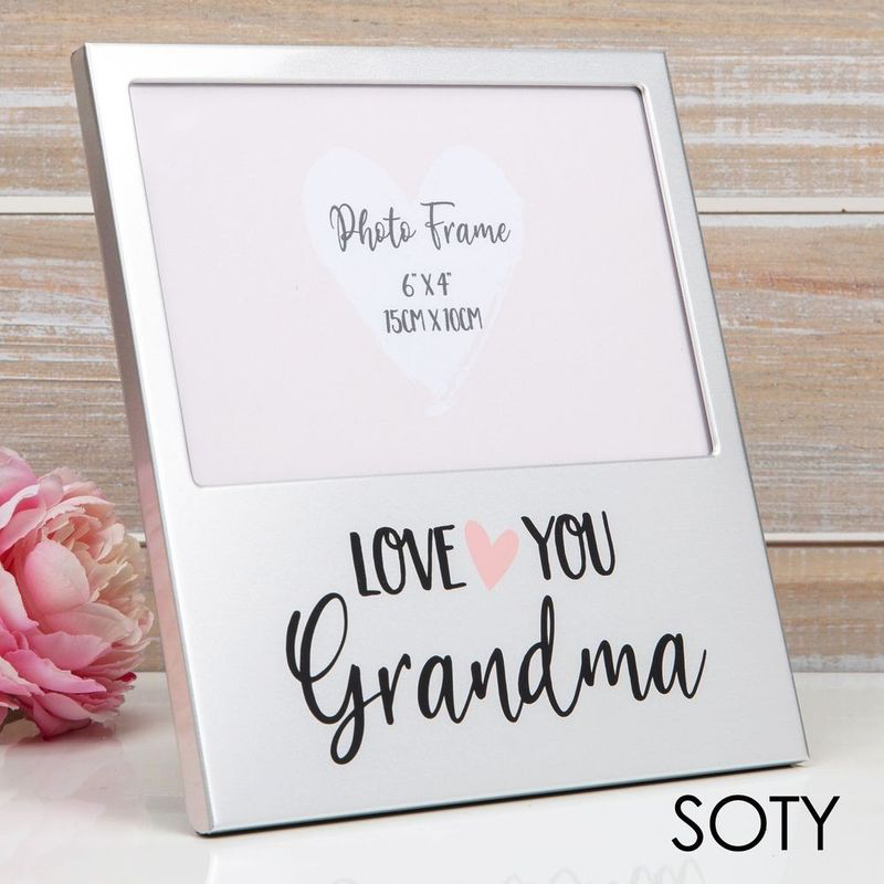 Love You Grandma Aluminium Photo Frame