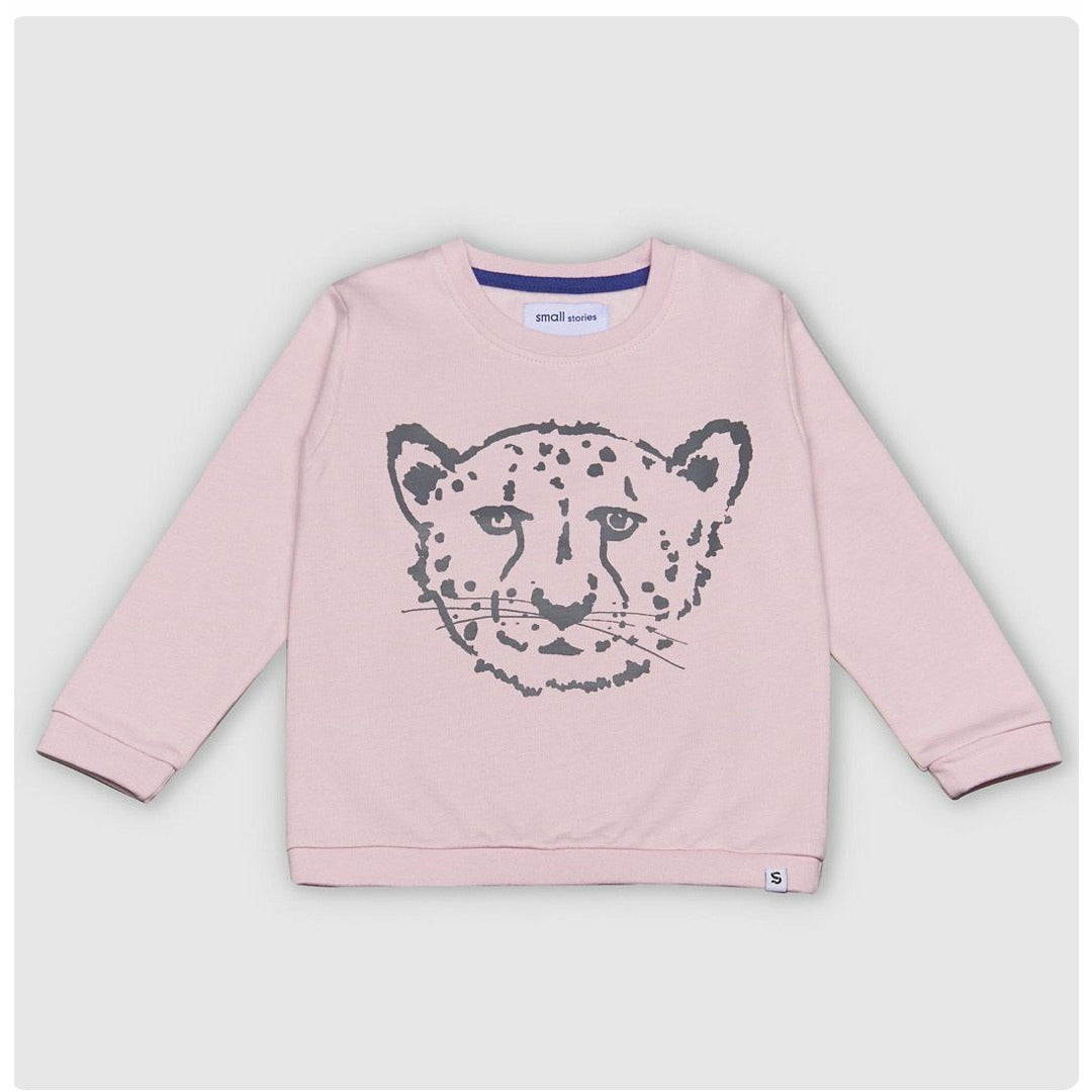 Pink Cheetah Sweatshirt