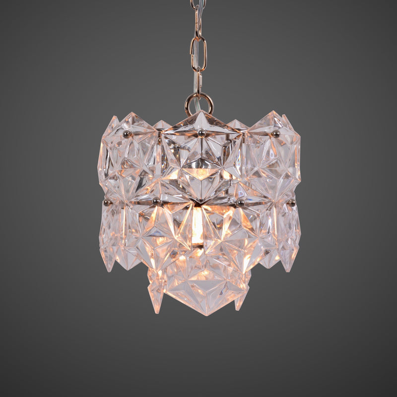 SOHO CLEAR CRYSTAL lampe fra NOBELIUM LIGHTING