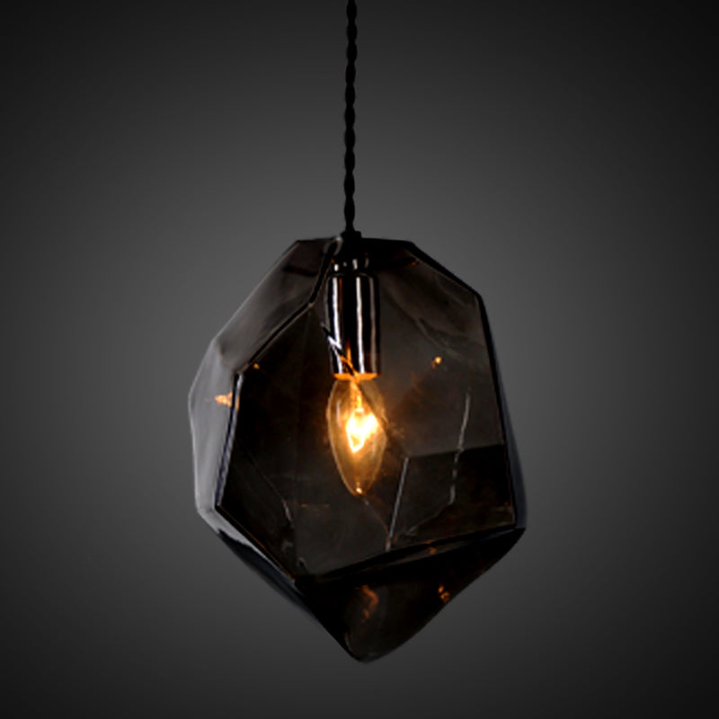GOTHAM SINGLE BURNED BLACK lampe fra NOBELIUM LIGHTING