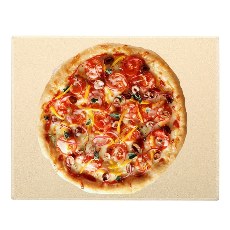 Extremely Heat Resistant Pizza Baking Stone for Ovens & BBQ Grills
