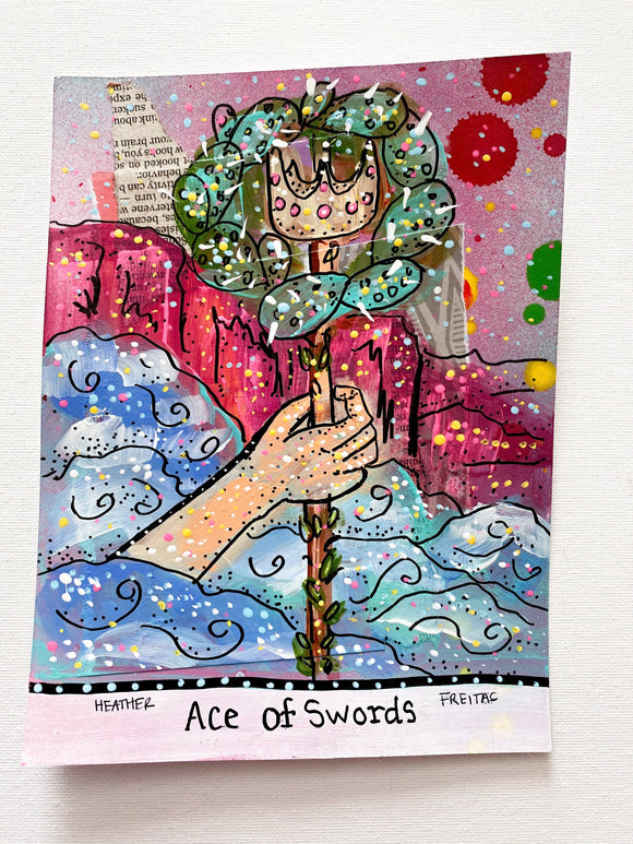 Ace Of Swords Heather Freitas