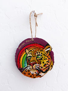 Arizona Jaguar Ornament Heather Freitas