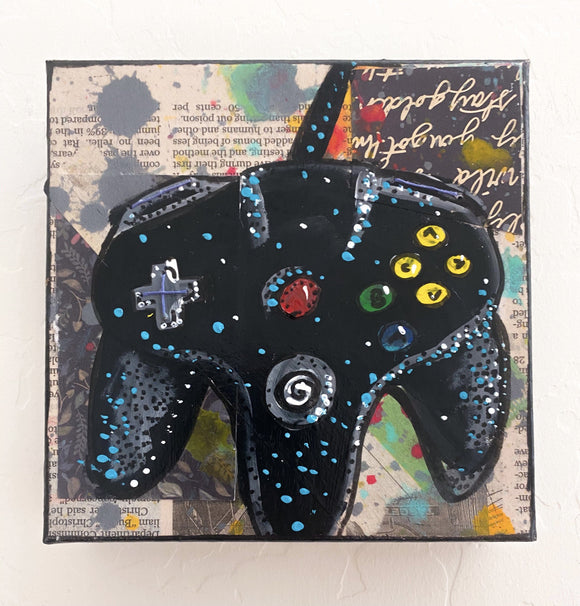 Black N64 Remote Heather Freitas