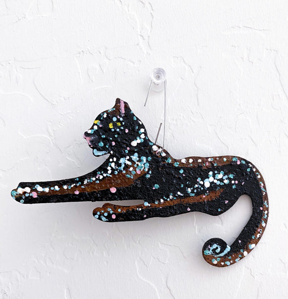 Black Panther Ornament Heather Freitas