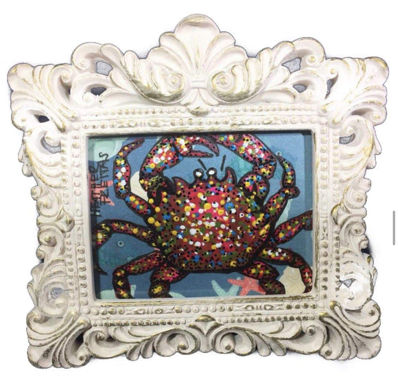 Blue Crab mini Heather Freitas
