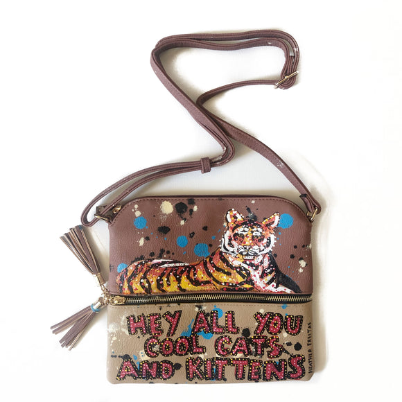Cool Cats Crossbody- Tiger Edition Heather Freitas