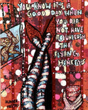 Flying Monkeys - Glitter red edition Heather Freitas