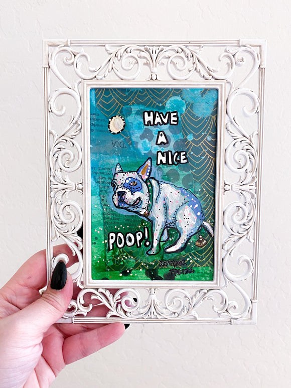 Have A Nice Poop French Bulldog Edition Heather Freitas
