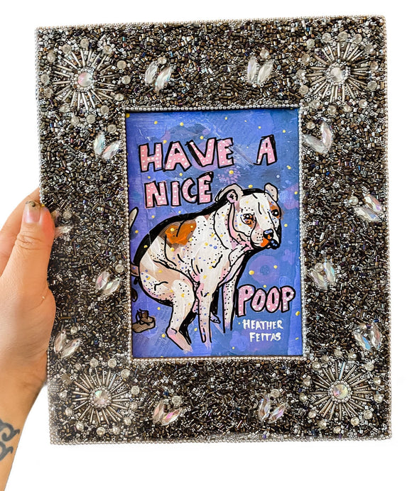 Have A Nice Poop Pitbull Edition Heather Freitas