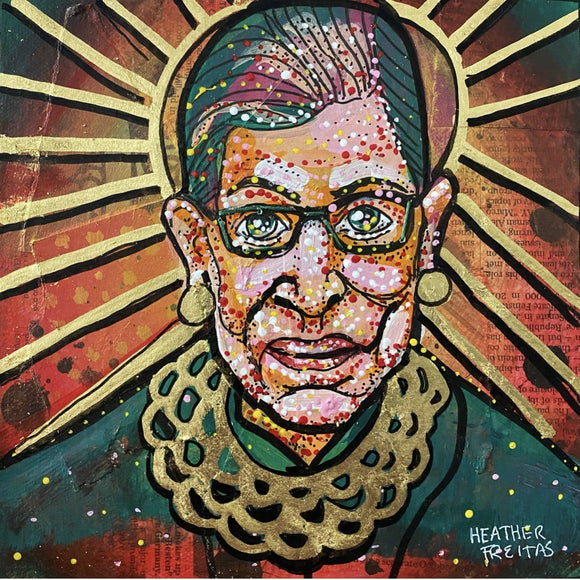 Holy RBG- Vintage Edition Heather Freitas