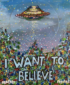 I Want To Believe Heather Freitas