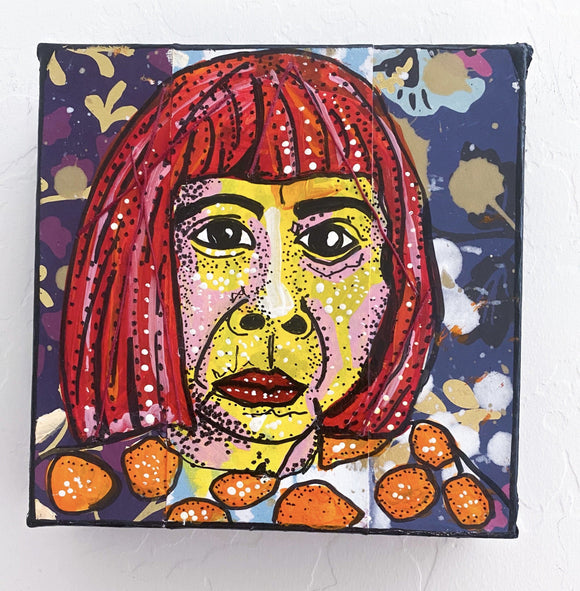 Kusama Portait Study Heather Freitas