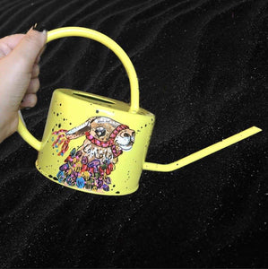 Llama Watering Can Heather Freitas