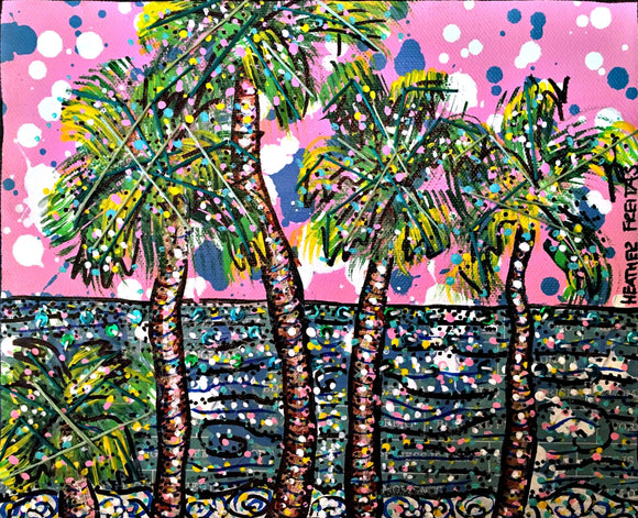 Pink Palms Heather Freitas