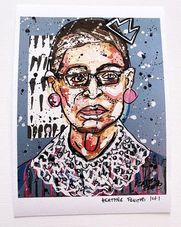 Queen RBG ( Edition 1 of 1 ) Heather Freitas